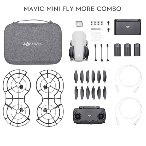 Mavic Mini Fly More Combo Professional Deecomtech Store
