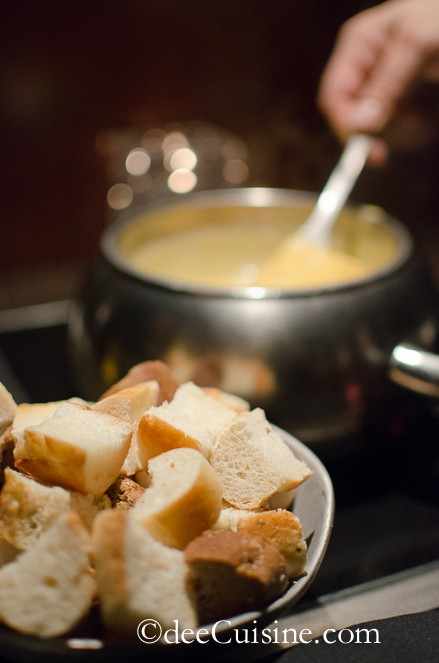 Fondue at The Melting Pot, Darien