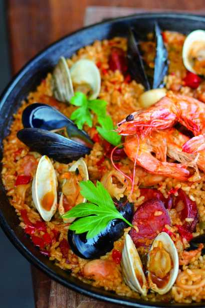 Seafood Paella Photo Credit: Stephanie Webster