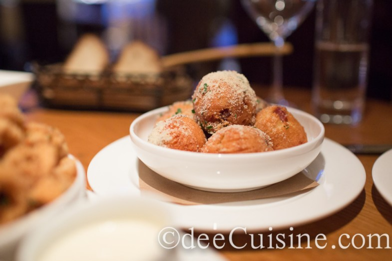 Proscuitto and Parmesan Fritters