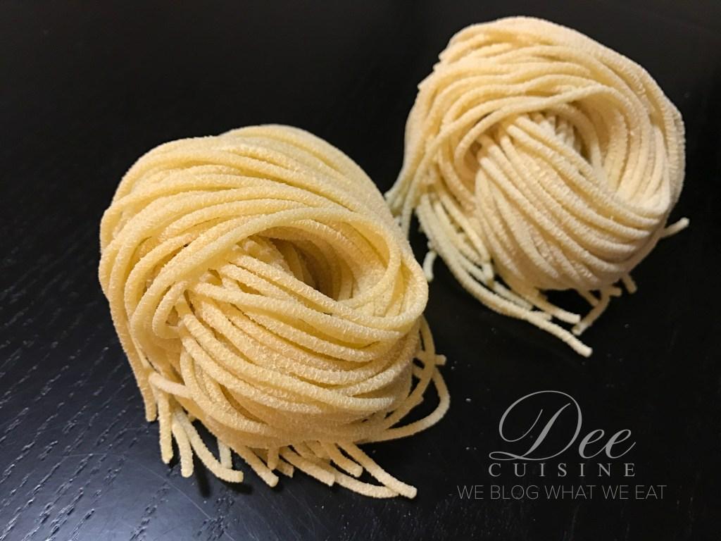 Ricotta Whey Spaghetti
