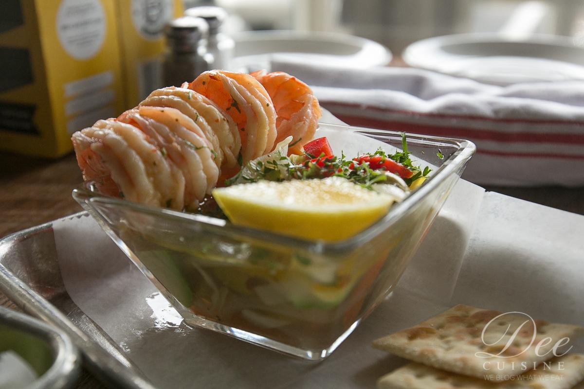 Pickled shrimp cocktail