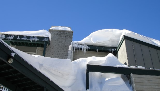 Linden Roof Snow Removal