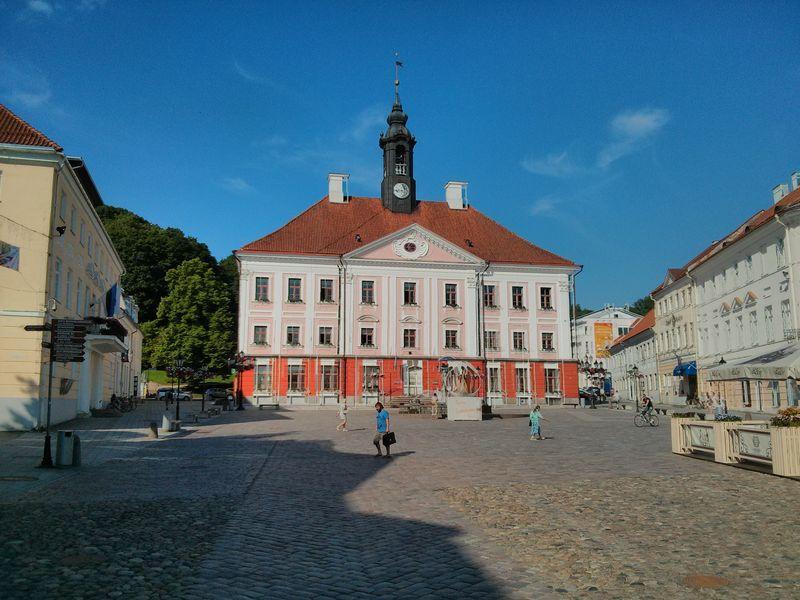 Van Tartu (Estland) naar Puumala (Finland)