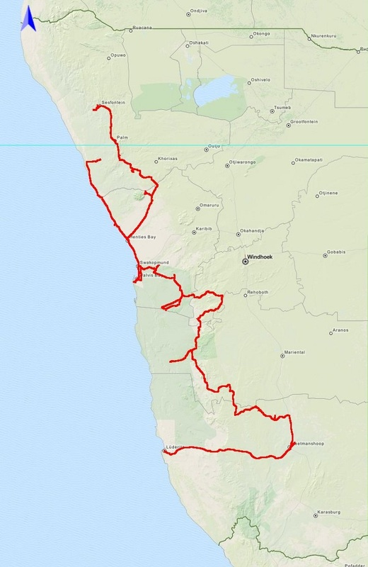 Zand, Zeewind, Zuid Amerika (2015-11)