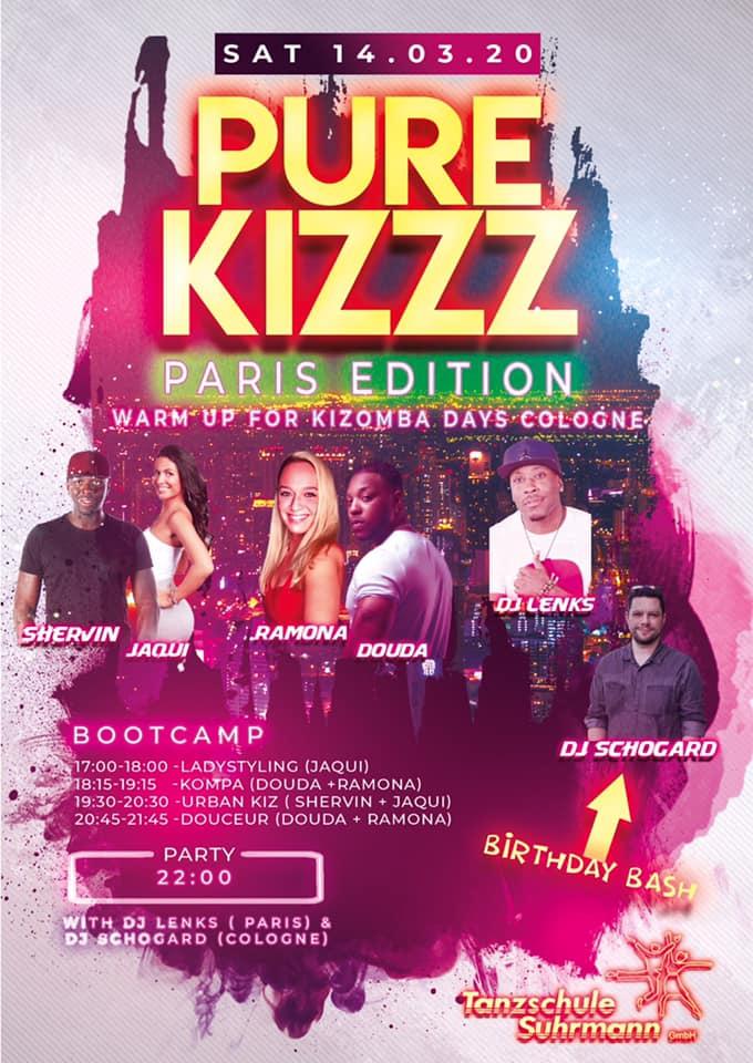 Deejay JSI Pure Kizzz Dortmund - PARIS Edition