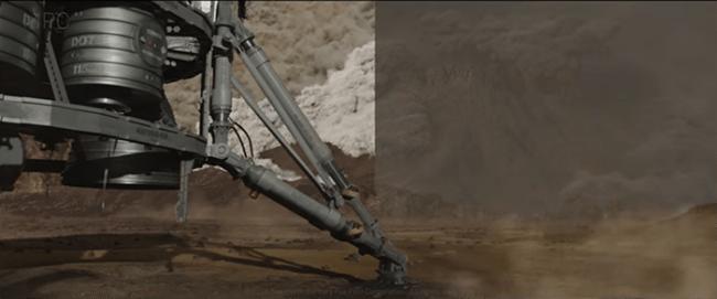 LES EFFETS SPÉCIAUX DU FILM SEUL SUR MARS 3