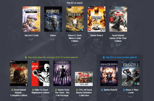 Humble Deep Silver Bundle 2 1