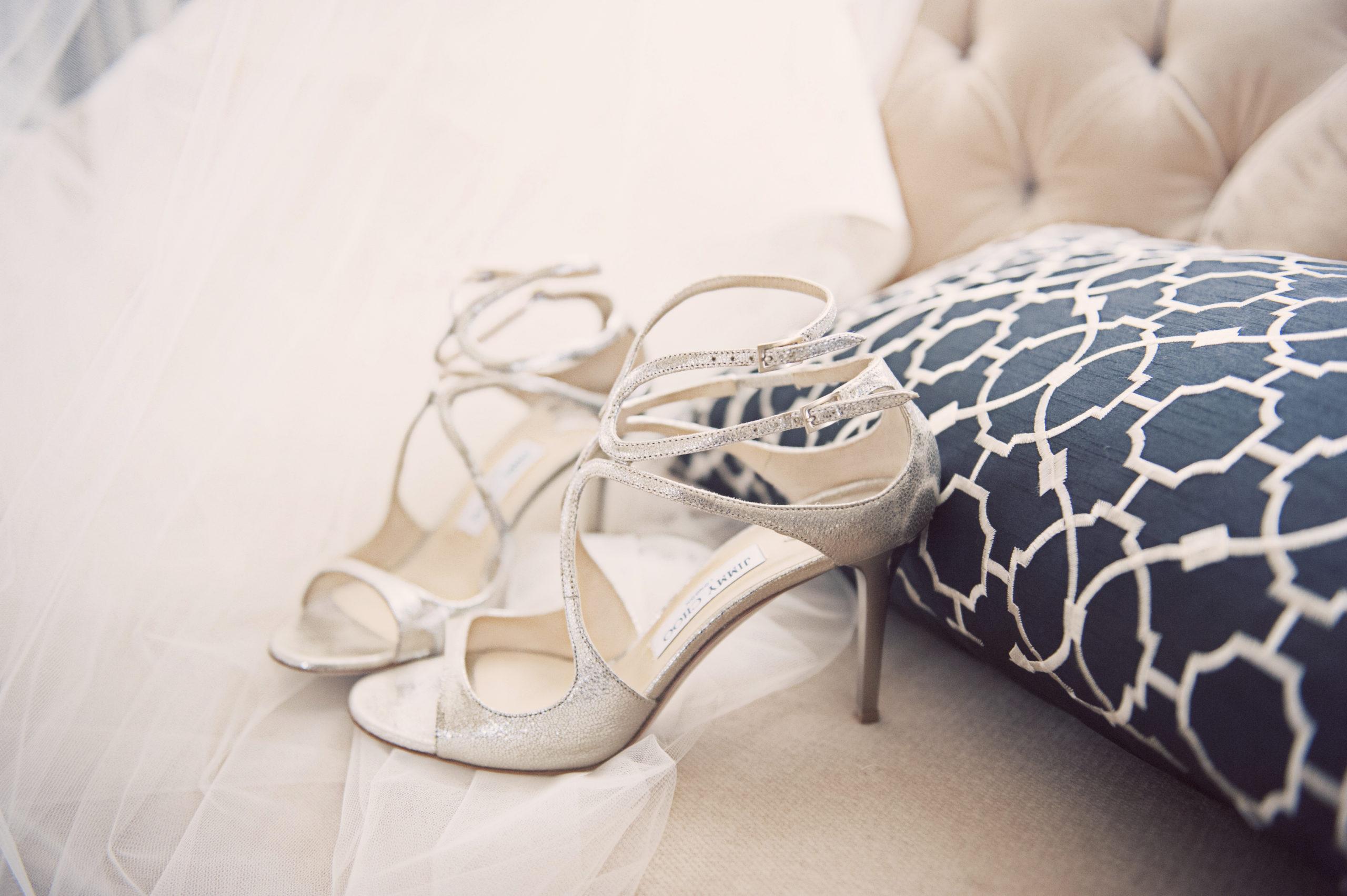 Classic Hollywood Wedding California I Dee Kay Events I New Jersey Wedding Planner I Wedding Shoes