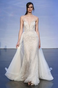 Dee Kay Events | NYC 2018 Bridal Fashion Week | Justin Alexander Bridal I Boho Chic Wedding Dress