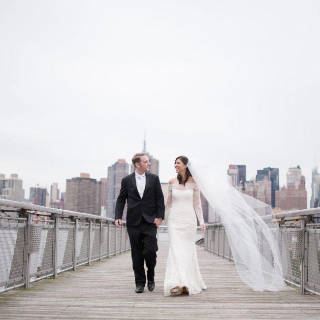 NYC Chic Winter Wedding ǀ Dee Kay Events ǀ Wedding Consultant ǀ Wedding Design ǀ Bride and Groom