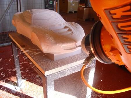 Delcam robot machining