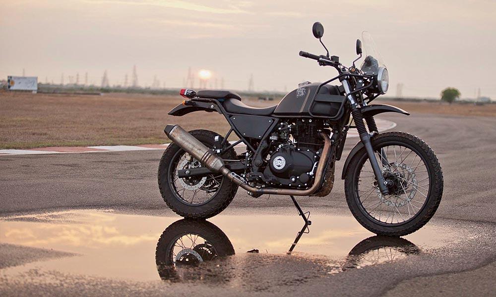 Is The Himalayan An Adventure Motorcycle Deelip Menezes