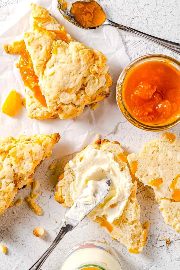 Mango-White-Chocolate-Scones-with-toppings-2 2-min