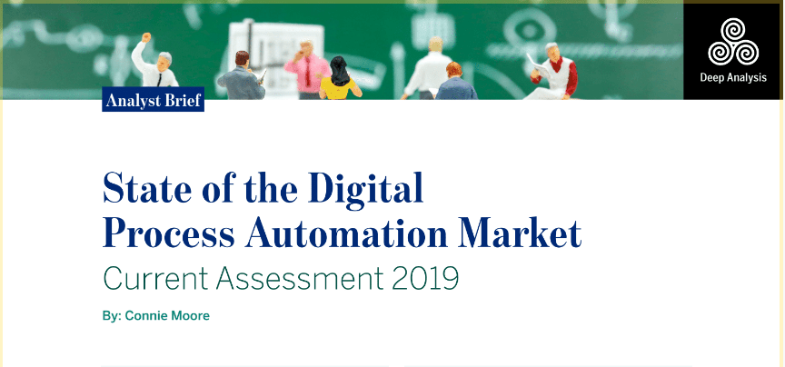 State of the Digital Automation Process Market - Current Assessment 2019 | Deep Analysis