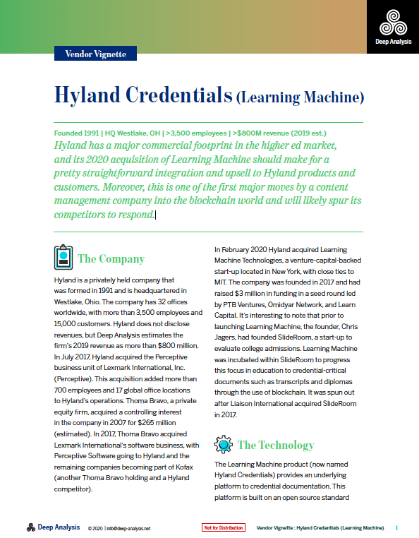 Hyland Credentials