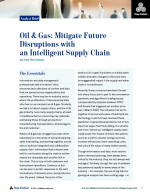 Oil & Gas | Mitigate Future Disruptions with an Intelligent Supply Chain