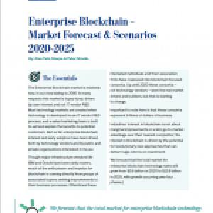 Enterprise Blockchain Market Forecast & Scenarios 2020-25