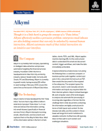 alkymi analyst report