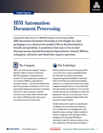 IBM Document Processing Review