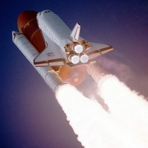 Box Shuttle Take Off