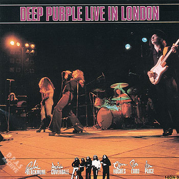 Live in London cover