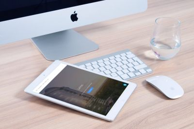 Mark Properties Tablet Mockup