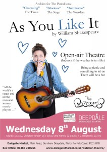 As You Like It - Open Air Shakespeare
