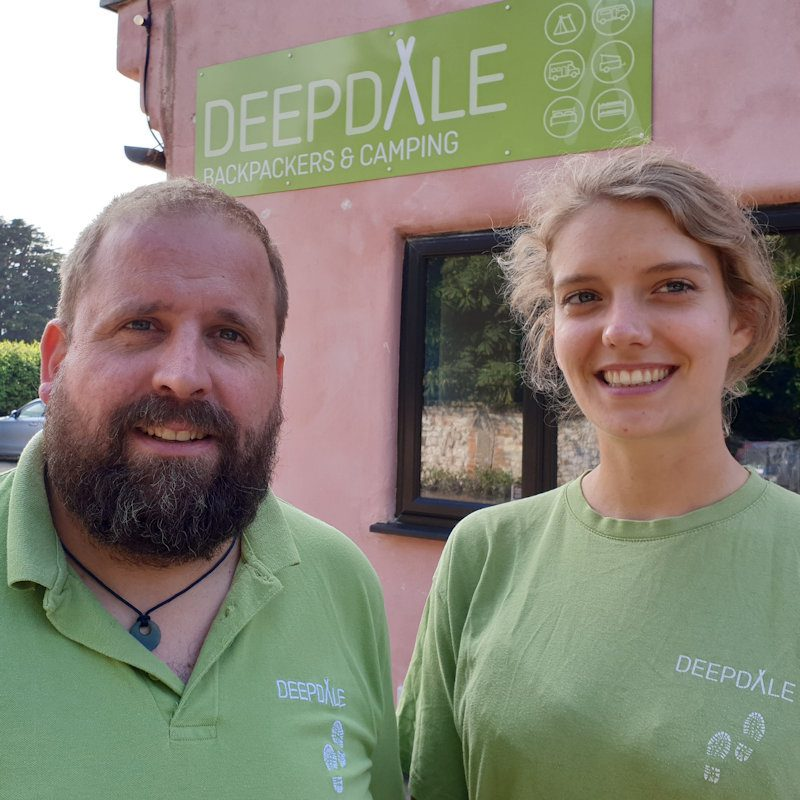 Jason and Georgie who present Deepdale Podcast