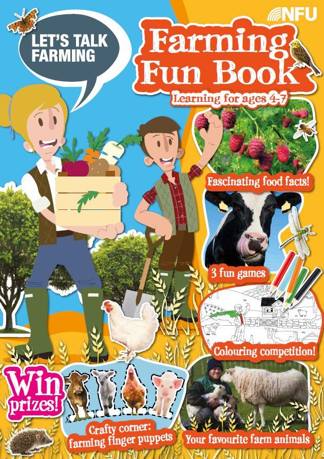Coronavirus Lockdown Activity – Farming Fun Book