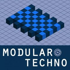 Modular Techno <br><br>– 100 Wav Loops (Up To 32 Beats Length), 367 MB, 16 Bit Wavs.