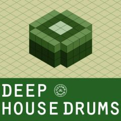 Deep House Drums <br><br>– 300 Drum One Shots (50 Kicks, 50 Claps, 50 Snares, 50 Hihats, 50 Snares, 50 Percs, 24 Bit Wavs.