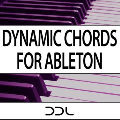 Dynamic Chords For Ableton <br><br>&#8211; (Live 9+10) 52 Dynamic Chord modules, 3 Chord Progression Modules, 52 Chord Modules, 189 MB.
