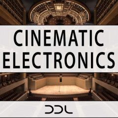 Cinematic Electronics <br><br>– 5 Construction Kits (Wav+MIDI), Each Kit 10 With Tracks, 252 MB, 24 Bit Wavs.