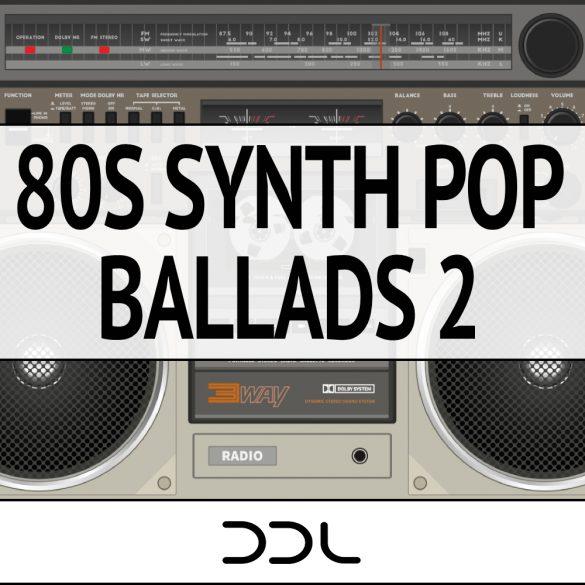 80s Synth Pop Ballads 2 – 15 Themes (Wav+MIDI), 379 MB, 24 Bit Wavs
