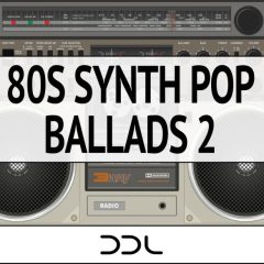 80s Synth Pop Ballads 2 <br><br>–  15 Themes (Wav+MIDI), 379 MB, 24 Bit Wavs.
