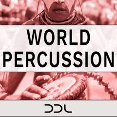 World Percussion <br><br>– 400 Wav Loops, 888 MB, 24 Bit Wavs.
