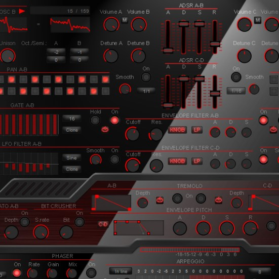 Free Beta Synth (WT-01 Red) – Deep Data Loops