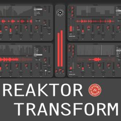 Reaktor Transform <br><br>– Instrument For Reaktor 6 (Full Version)