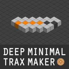 Deep Minimal Trax Maker <br><br>– 1 NI Reaktor (Full Version 6.1 & Higher) Ensemble (64 Beat Loops, 64 Bass Loops, 64 Percussion Loops, 64 Theme Loops, 64 Hihat Loops), 20 Presets, Mixer, Reverb, Delay, 720 MB.
