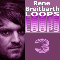 Rene Breitbarth Loops Vol.3 <br><br>– 314 loops (Between 1-16 bars), 126 Beat Loops, 20 Bass Loops, 27 Rhythm Loops, 35 Synth Loops, 59 Music Loops, 47 Chord Loops, 558 MB, 120 BPM, 24-bit Wavs.