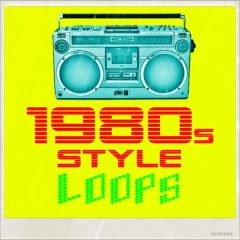 1980s Style Loops Vol.1 <br><br>– 672 Files, 511 Beat And Music Loops (1-8 Bars), 161 MIDI files, 91-127 BPM, 1,15 GB, 24 Bit Wavs.
