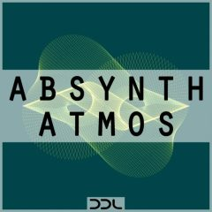 Absynth Atmos <br><br>– 64 NI Absynth Presets (V5.3.1 or higher), 66 Wav Files, 150 MB, 24 Bit Wavs.