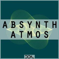 Absynth Atmos <br><br>– 64 NI Absynth Presets (V5.3.1 or higher), 66 Wav Files, 150 MB, 24 Bit Wavs.