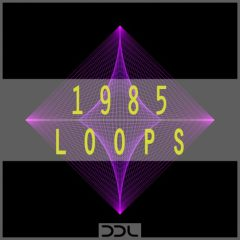 1985 Loops <br><br>– 225 Wav & MIDI Loops (80 Beat Layer Loops (Kicks, Hihats, Snares), 22 Melody Loops, 21 Chord Loops, 20 Bass Loops, 62 MIDI Files, 419 MB, 24 Bit Wavs.