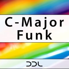 C-Major Funk <br><br>&#8211; 94 Files (54 Wav, 40 MIDI, All In Key C), 170MB, 24 Bit Wavs.