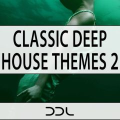 Classic Deep House Themes 2 <br><br>– 5 Construction Kits , 43 One Shots, Key-Labeled, 234 MB, 24 Bit Wavs.