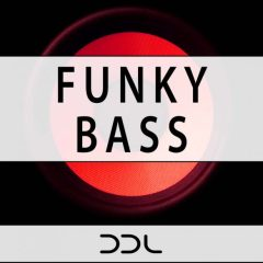 Funky Bass <br><br>– 120 Wav Loops, 120 MIDI files, Bonus Loops From Demo, 400 MB, 24 Bit.