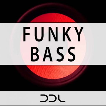 Funky Bass – 120 Wav Loops, 120 MIDI files, Bonus Loops From Demo, 400 MB,  24 Bit