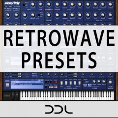Retrowave Presets <br><br>–  74 Presets For KORG Mono/Poly +Bonus Demo Files.